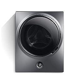 LFANH Wandmontage 3 kg Mini Waschmaschine, Mehrzweck automatische Trommel Waschmaschine Dehydrator, 48 × 30 × 60 cm…