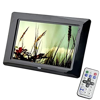 Sea Versy Digital Picture Frame 7 Inch LED Backlight High-Definition 800x480 Electronic Album Picture