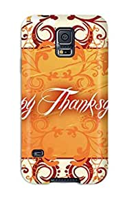 Premium Tpu Thanksgivings Cover Skin For Galaxy S5