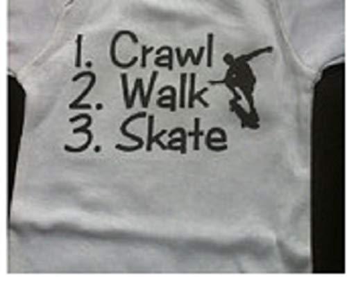 crawl walk skateboard skatrboarding one piece