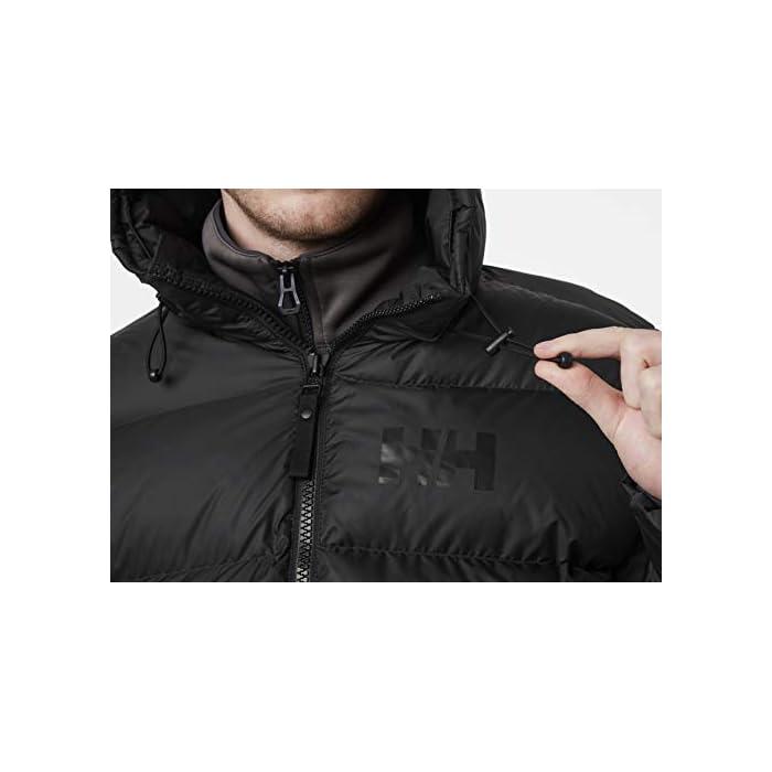 41A8JqIayNL Inspirada en la clásica chaqueta acolchada Helly. Una chaqueta acolchada suave y abrigada con un diseño de largo hasta la cadera y aislamiento sintético soplable Cierre: Cremallera Lavar a máquina