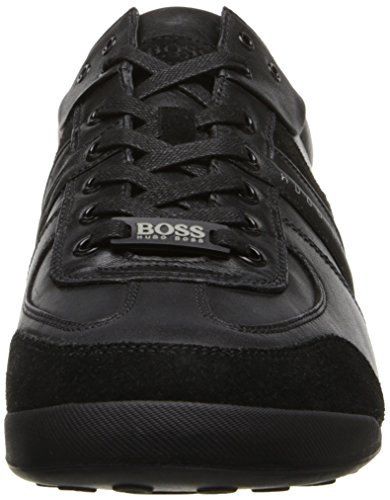 Hugo Boss Mens Aki Gymnastikskor Svart