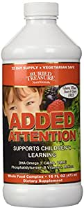 Buried Treasure Added Attention Liquid Vitamin, 16 Ounce Bottle