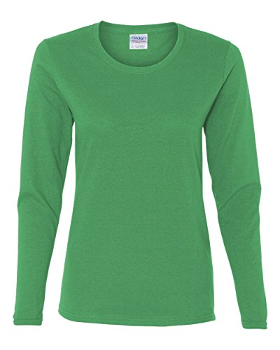 Gildan Heavy Cotton Ladies' Long-Sleeve T-Shirt