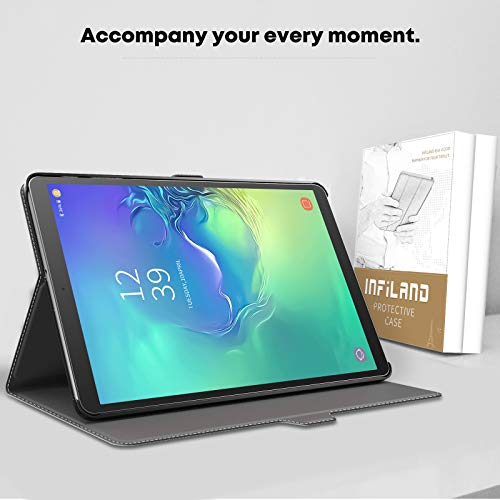 Infiland Samsung Galaxy Tab A 10.1 2019 Case, Multiple Angle Stand Cover Compatible with Samsung Galaxy Tab A 10.1 Inch...