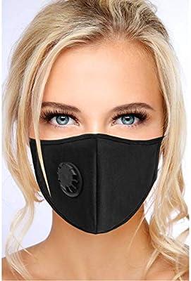 face mask virus black