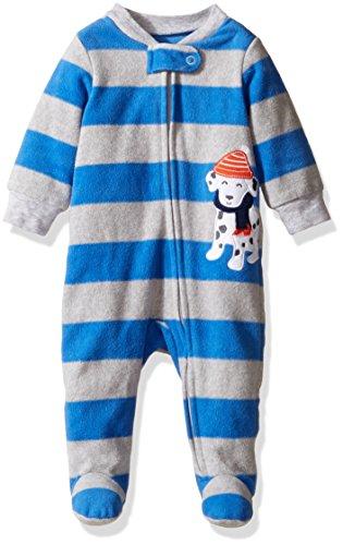 Carter's Baby Boys' Microfleece 115g170, Blue Dalmatian, 9M