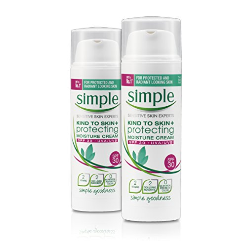 Protecting Moisture Lotion - Simple Kind to Skin Protecting Moisture Cream SPF 30 (50ml) - Pack of 2