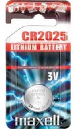 Maxell Cr2025 Lithium Coin Battery