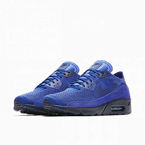 Nike Mens Air Max 90 Ultra 2.0 Flyknit Fabric Low Top Lace Up Running Sneaker