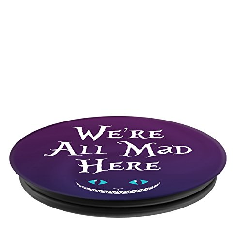 Brave New Look Wonderland We're All Mad Here Pop Sockets Stand for Smartphones and Tablets by Brave New Look (Image #2)