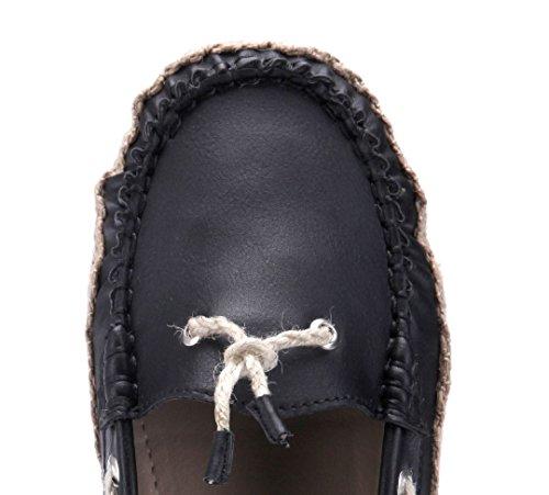 Schuhtempel24 Damen Schuhe Klassische Ballerinas Flach Schwarz