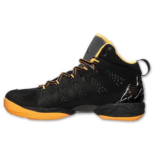 [ナイキ] ジョーダン Jordan Melo M10 Black Atomic Mango ブラック オレンジ 629876-013 [並行輸入品] B01JLDXJJU  27.0 cm
