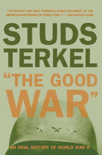 Capa do livro 'The Good War: An Oral History of World War II (1984)'