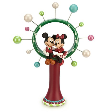Mickey and Minnie Mouse Christmas Tree Topper