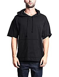 G-Style USA Men's Oversized Solid Color Subdued Hues Baggy Boxy T-Shirt & Hoodie