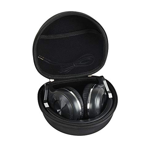 Hermitshell Hard EVA Travel Case Fits Bluedio T3 (Turbine 3rd) Extra Bass Wireless Bluetooth 4.1 Stereo Headphones ()