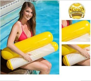 Platiniumtech Aufblasbare Schwimmbad Schwimmende Wasser Hängematte