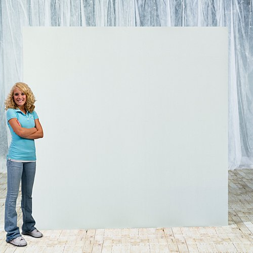 8 ft. DIY Photo Booth Backdrop - Board Background