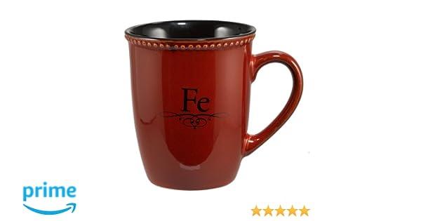 Taza roja «Fe»