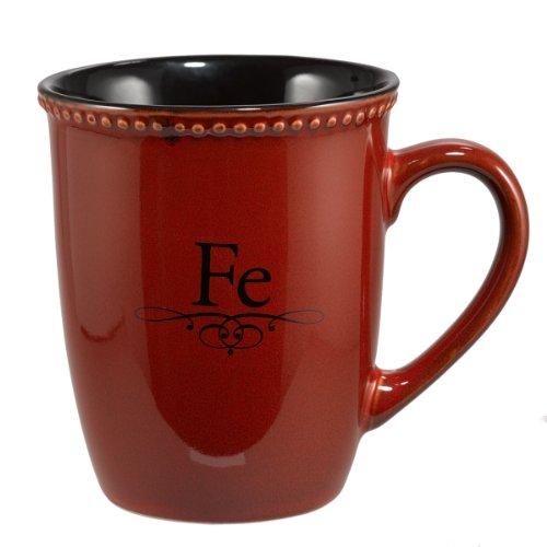 Taza roja «Fe» ()