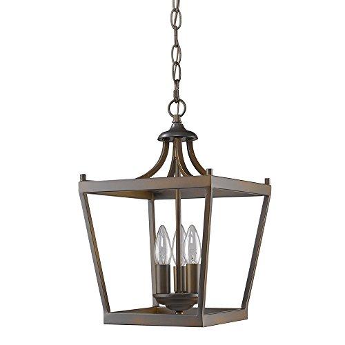 Kennedy Rubbed Lantern Pendant Chandelier