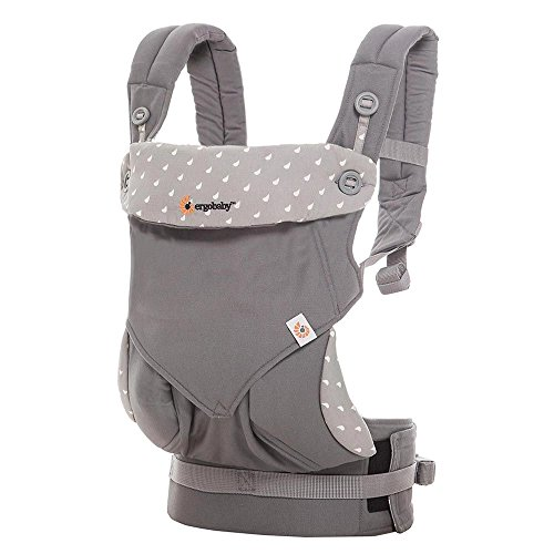 Great Deal! Ergobaby 360 All Carry Positions Award-Winning Ergonomic Baby Carrier, Dewy Grey