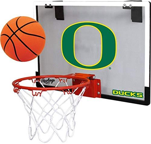 Rawlings University of Oregon Ducks Indoor Basketball Hoop Set - Over The Door Game