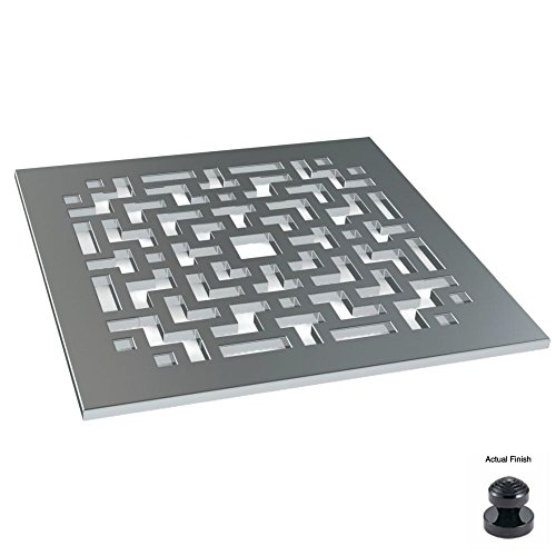 85%OFF Watermark SD1-BL Black Shower Drain Designer Shower Drain -