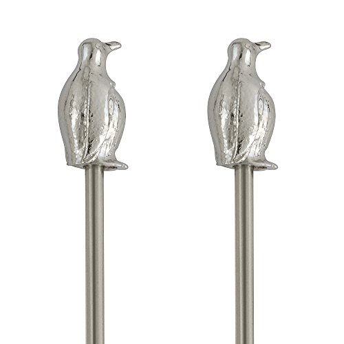 Epic Products Penguin Cocktail Stirrers - Set of 4 Novelty Bar Stir Sticks by Epic Products (Image #1)