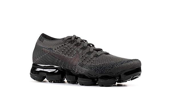 online store ff6da c9ba9 Amazon.com   Nike WMNS Air Vapormax Flyknit 849557 009 Midnight Fog Black  Women s Running Shoes (10)   Road Running