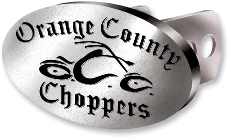 Plasticolor Orange County Choppers Brushed Aluminum Hitch Plug