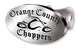 Orange County Choppers Brushed Aluminum Hitch Plug
