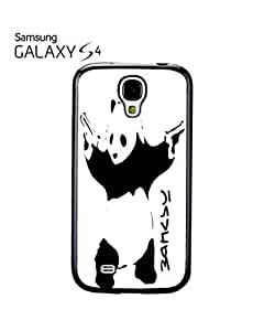 Banksy Panda Street Art Mobile Cell Phone Case Samsung Galaxy S4 Black