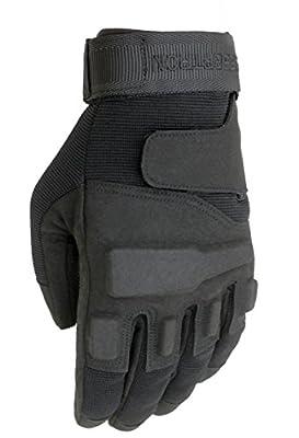 Seibertron Men's S.O.L.A.G. Special Ops Full Finger Tactical Gloves