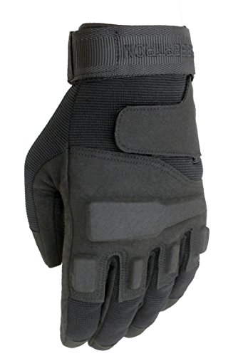Seibertron Adult Or Youth S.O.L.A.G Special Operations/Ops Light Assault Full Finger Tactical Gloves Black L