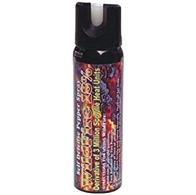 NEW! Wildfire 4 oz Ounce 18% OC Pepper Spray FOGGER Self POLICE Defense HOTTEST