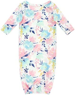 Anbaby Long Sleeve Soft Newborn Baby Sleep Gowns