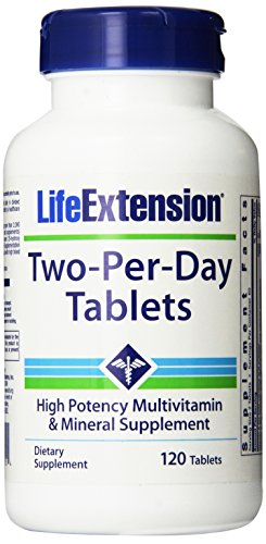 Life Extension Two Per Day 120 Tablets (Life Extension Multi)
