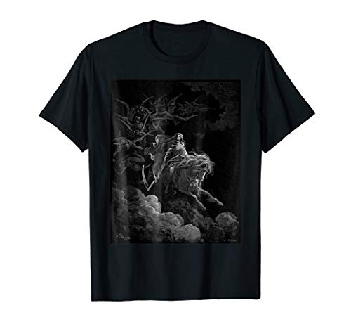Gustave Dore - Death on the Pale Horse Art Print T Shirt