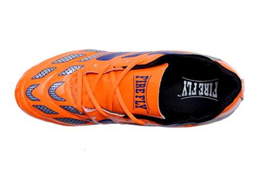 3M Botas de Fútbol Para Hombre Naranja Naranja