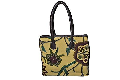 SD Fabrics , Damen Tote-Tasche braun braun Large