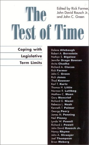The Test of Time: Coping with Legislative Term Limits