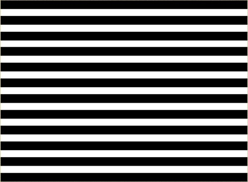 7X5ft (220cmX150cm)Black And White Striped Background For Baby Happy Birthday Photography Backdrops Photo Backdrop(With pocket)