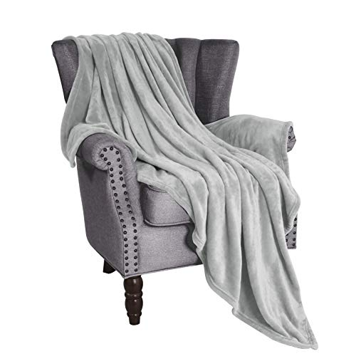 Exclusivo Mezcla Luxury Flannel Fleece Velvet Plush Throw Blanket - 50