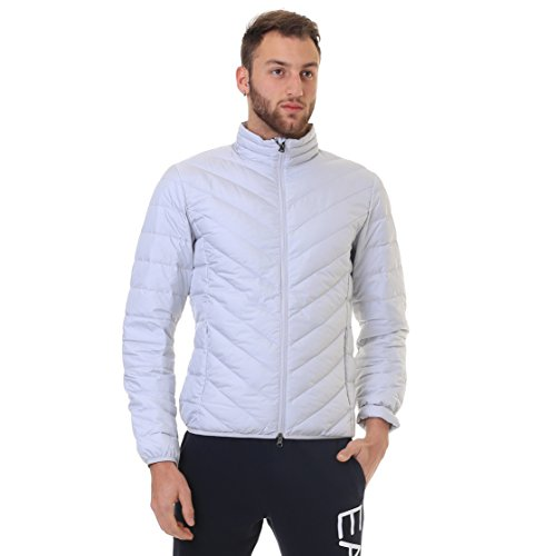 Jacket Down Shield Train Grey Light EA7 Core Active Men's Emporio Light Armani Tq4wYSx8f