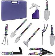 Staright conjunto de ferramentas de jardim de 10 peças Ferramentas de jardinagem de alumínio para impressão de