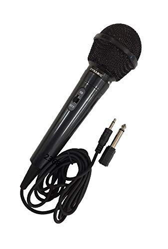 Dynamic Microphone MIC w/Extra Adapter Karaoke Systems & Computers 3.5mm & 6.3mm from Unknown