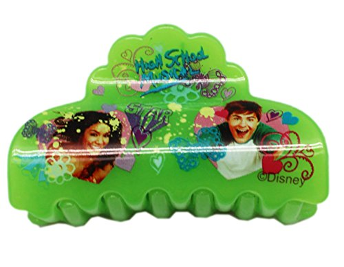 Disney's High School Musical Tray and Gabriella Green Hair Clip (Gabriella High School Musical Costume)