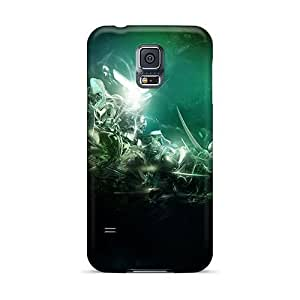 Hot KFn10088EPOf Abstract 3d Background Iii Tpu Cases Covers Compatible With Galaxy S5